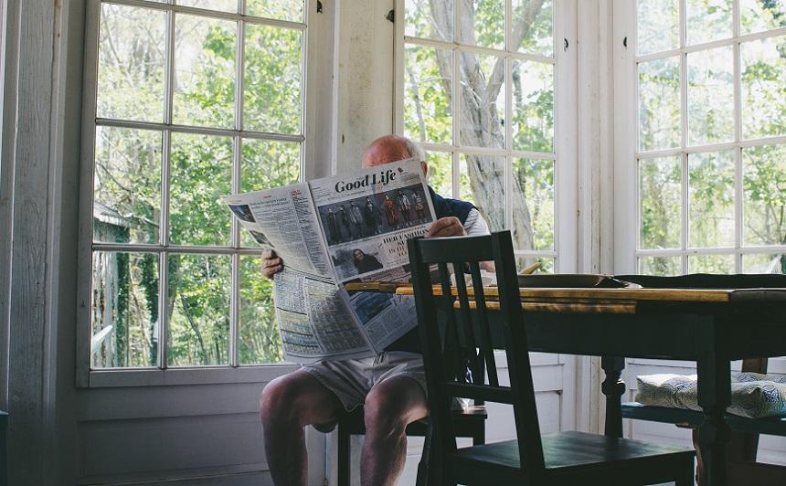 新聞購読をやめる